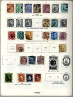 OLD IDEAL ALBUM 1840-1915 With Foreign & British Commonwealth Ranges. (100's) - Timbres