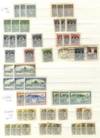 VATICAN & SAN MARINO Duplicated M & U Ranges Housed In Two Stock Books. VATICAN 1929-68, SAN MARINO 1877-1982. - Timbres