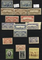 CINDERELLA LABELS & BACK OF THE BOOK Miscellaneous Ranges In A Stock Book & On Stock Cards, Noted - GB Exhibition Labels - Timbres