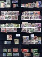 1935 Silver Jubilee Complete Set Incl. Egypt Seal, M (many Sets UM), Some Gum Toning Present. - Grande-Bretagne