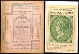 PHILATELIC PRICE LISTS Etc An Interesting Assembly Of Early Price Lists With Catalogues & Advertising Material Incl. The - Timbres
