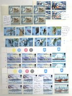 BIRDS QEII UM Stock Of Bird Defins, Better Singles, Sets But Main Value In Blocks Incl. Plate, Imperfs & Colour Controls - Timbres
