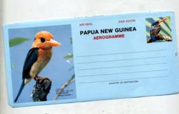 Aerogramme 35 Oiseau - Papouasie-Nouvelle-Guinée