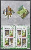 Eueopa Cept 2011 Bulgaria Booklet ** Mnh (49117) - 2011