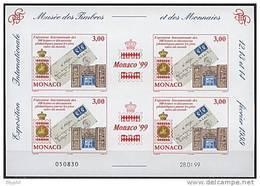 Monaco, BF N° 81** Y Et T, Bloc-feuillet. - Bloques