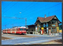 Bern-Solothurn Regionalverkehr Aufnahme 1974 In Ittigen Moderne Reproduktion - BE Bern