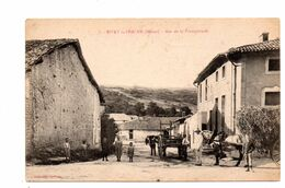 Sivry La Perche.Rue De La Promptitude. - Otros Municipios