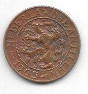 *netherlands Antilles 1 Cent 1965  Km 1  Xf+ /ms60 - Antillen (Niederländische)