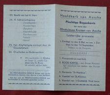 België Assche Asse Plechtige Begankenis Mirakuleuze Kruisen - Religion &  Esoterik