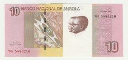 Banco Nacional De Angola 10 Kwanzas 2012 UNC - Angola