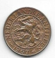 *netherlands Antilles 1 Cent 1967  Km 1  Unc /ms63 - Antillen (Niederländische)