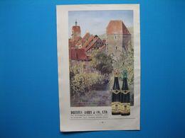 (1949) Vins D'Alsace : HUGEL Et Fils à Riquewihr (représenté Par Dreyfus Ashby à Londres) -- Jérome LORENTZ à Bergheim - Advertising