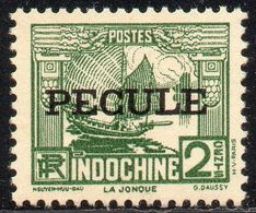!!! FISCAL D'INDOCHINE PECULE N°14 NEUF ** - Autres