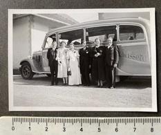 Chasseral Reisebus Saurer Mit Gesellschaft - Auto's