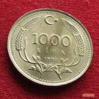 Turkey 1000 Lira 1990 KM# 997  Turquia Turquie Turchia Turkije - Turkije