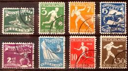 "Nederlande Pays-Bas 1928: ""Olympiade Amsterdam"" (Sport) NVPH 212-219 Yvert ? Michel 205-212 Gestempelt Used - Summer 1928: Amsterdam"