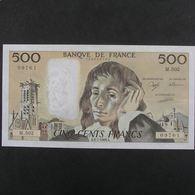 500 Francs Pascal 6.7.1989, SUP - 500 F 1968-1993 ''Pascal''