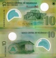 NICARAGUA, 10 CORDOBAS, 2007, P201b, UNC - Nicaragua