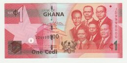 Bank Of Ghana 1 Cedi 2017 UNC - Ghana