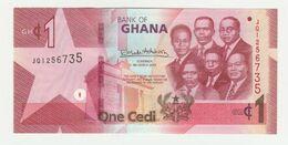 Bank Of Ghana 1 Cedi 2019 UNC - Ghana