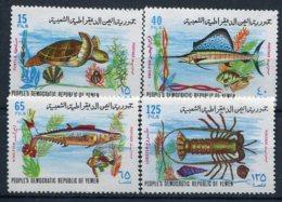 Yemen  Du Sud       Faune Marine 122/125 ** - Vie Marine