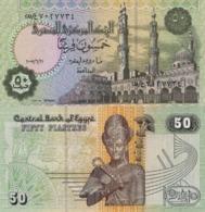 EGYPT, 50 PIASTRES 2008, P62i, UNC - Egipto