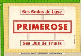 BUVARD : Ses Jus De Fruits  Sodas De Luxe PRIMEROSE - Softdrinks