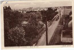 14-HERMANVILLE-SUR-MER-ROUTE DE LYON-ANIMEE-AUTOMOBILE - Frankreich