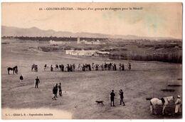 7444 - Colomb-Béchar ( Algérie ) - Départ D'un Groupe De Chasseurs Pour Le Mézarif - C.I. Clich. L.S. N°68 - - Bechar (Colomb Béchar)