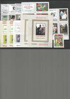 LOT DE BLOC ET TIMBRES DE BIENFAISANCE DE LA MACEDOINE  RARE - Lots & Kiloware (mixtures) - Max. 999 Stamps