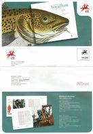 Portugal 2011 , Brochure , Pagela , Codfish , Environmet, Cheeses , Culture , Migrator Fishes , Credito Agricola , Korea - Autres (àpd. 1941)