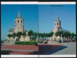 2 FOTOS  NIEUWMUNSTER  DE KERK   15 X 10 CM   ( 2005 ) - Zuienkerke