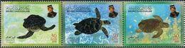 Brunei 2000, Turtles, MNH Stamps Stripe - Brunei (1984-...)