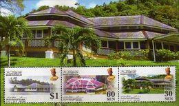 Brunei 2007, 100th Anniversary Of British High Residens In Brunei, MNH Sheet - Brunei (1984-...)