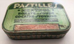 Boite Métal Pastilles Cocaine  Le Cateau - Boîtes/Coffrets