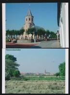2 FOTOS  NIEUWMUNSTER  KERK   15 X 10 CM   ( 2005 ) - Zuienkerke