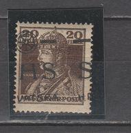 ☀ SHS Croatia 1918 Yugoslavia - KARLO Prince, Horizont Overprint Movement, Nicely Shifted Ovpt, Royal Hungary C Carl - Croacia