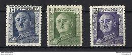 ESPAÑA **999/1001 Nuevo Sin Charnela. Cat.20,75 € - 1931-Today: 2nd Rep - ... Juan Carlos I