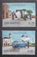 San Marino     Europa  Cept   Postfahrzeuge     2013 ** - 2013