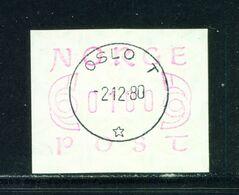 NORWAY - 1980 Frama 180o Used As Scan - Norwegen