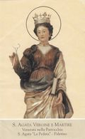 Santino S.agata Vergine E Martire - Andachtsbilder