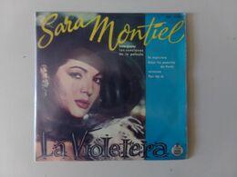 """45 T Sara Montiel """" La Violetera + 3 Titres """" - Vinyl-Schallplatten"""