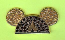 Pin's Disney Chapeau Mickey Château (Pierres Du Rhin)  - 10G15 - Disney