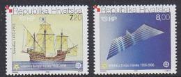 Croatia 2005 Mi 734-735 MNH EUROPA CEPT - Europa-CEPT