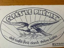 1 BUVARD CAFES LE PHENIX - Koffie En Thee