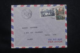 RÉUNION - Enveloppe Commerciale De Saint Pierre Pour Troyes En 1958 - L 65868 - Cartas