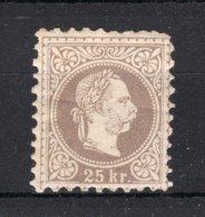 OOSTENRIJK Yt. 38 MH* 1867-1880 - Neufs