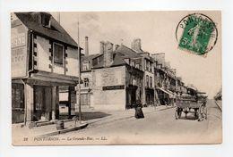 - CPA PONTORSON (50) - La Grande Rue - Editions Lévy N° 22 - - Pontorson