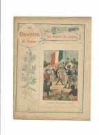 Les Devoirs Du Citoyen Respect De La Personne Humaine Didactique Protège-cahier Couverture 220 X 175 TB 3 Scans RARE - Schutzumschläge