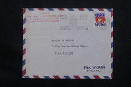 RÉUNION - Enveloppe Commerciale De Saint Denis Pour Paris En 1965 - L 65872 - Cartas